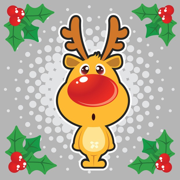 Free Christmas Vector Illustration 1.