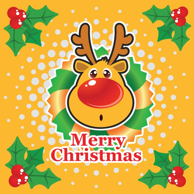 Free Christmas Vector Illustration 2.