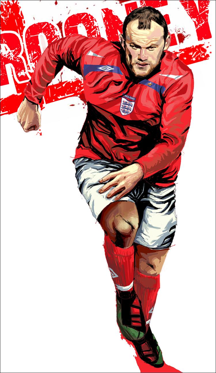 Wayne Rooney Vector