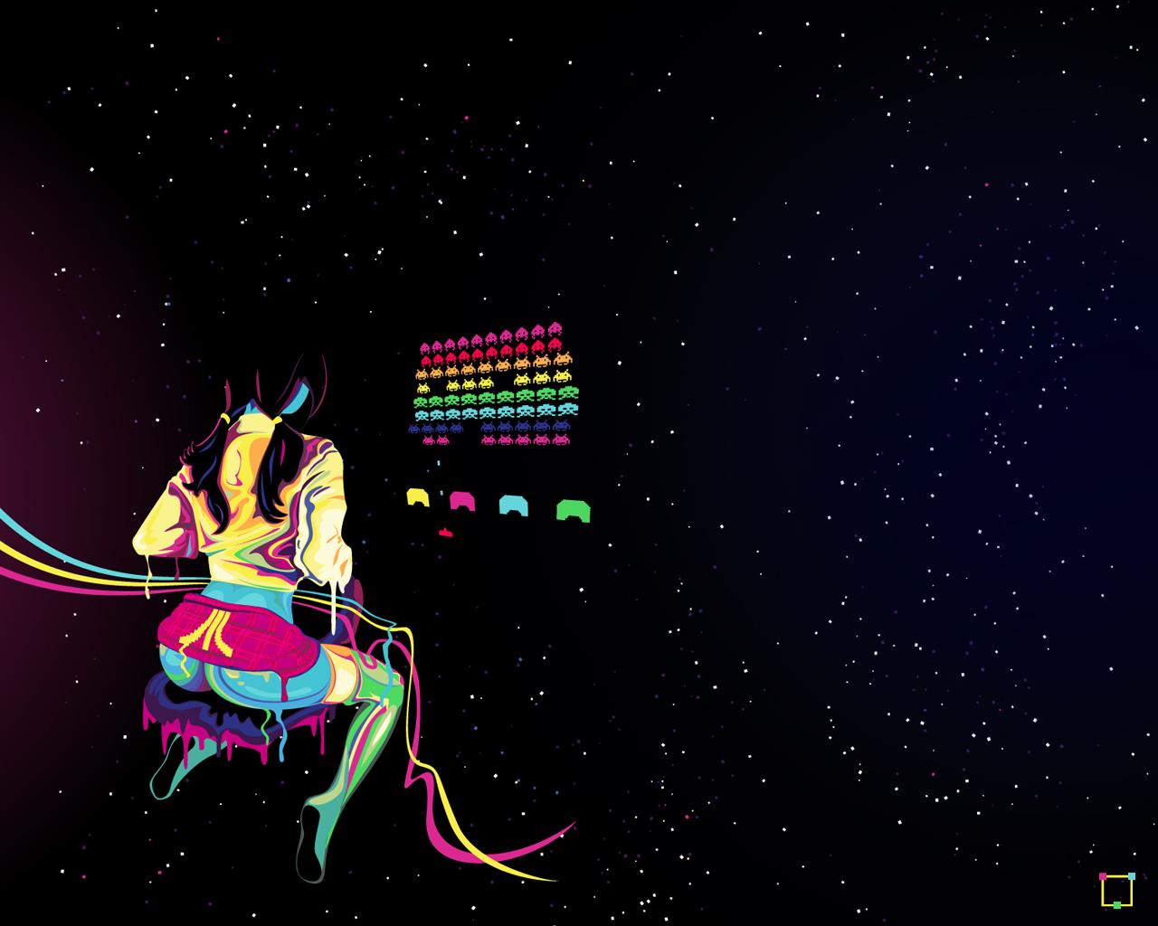 Genaro Desia Coppola Atari Is Hot Vector Art Wallpaper
