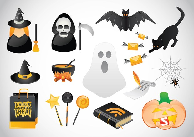 Halloween Icons by DaPino