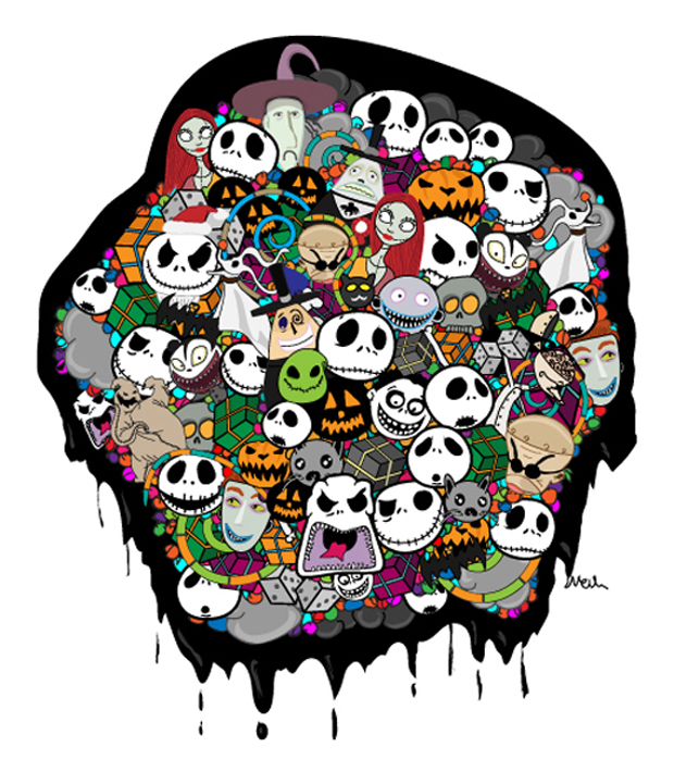 Nightmare Before Christmas Vector Pack