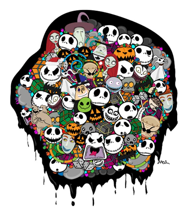 Free Comic Book Day Nightmare Before Christmas: Nightmare Before Christmas Vector Pack