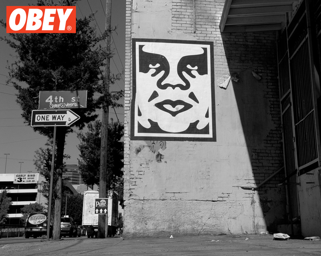 Obey Giant – The Medium is the Message