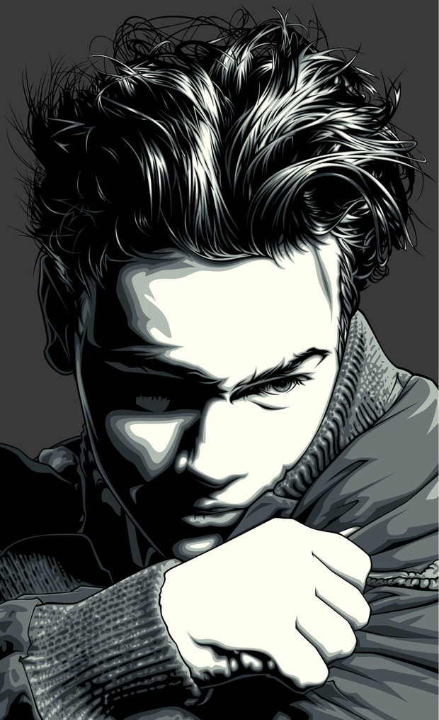 River Phoenix Vector Art Tribute