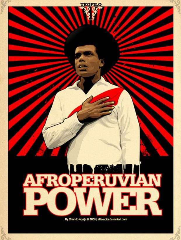Afro Peruvian Vector Power