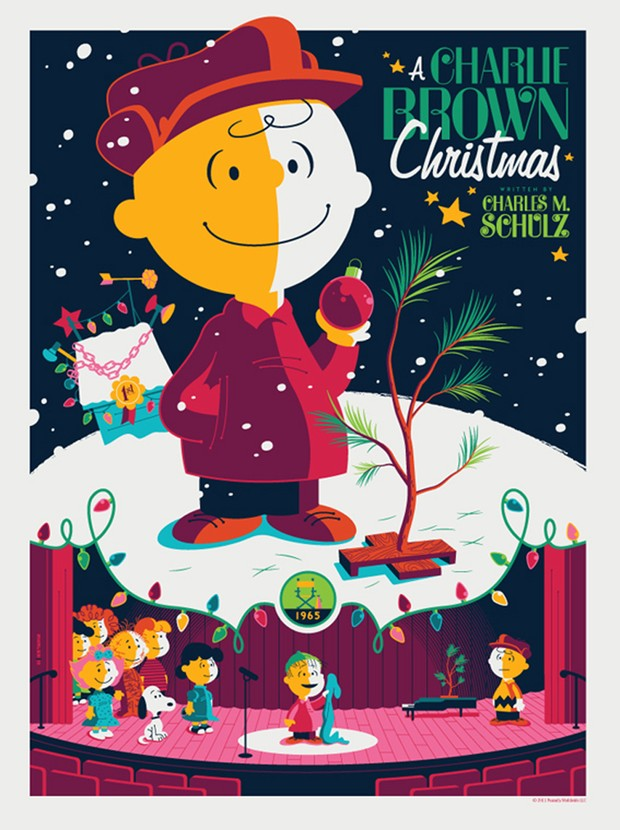 Charlie Brown Christmas by Tom Whalen