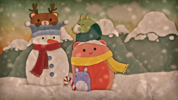 Snowy Snowman by Mag1c Wind0w