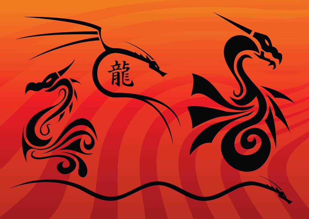 Dragon Vectors