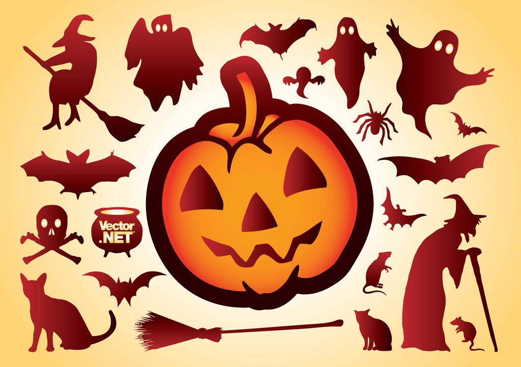 Halloween Vectors black frame for halloween Free Halloween Vectors