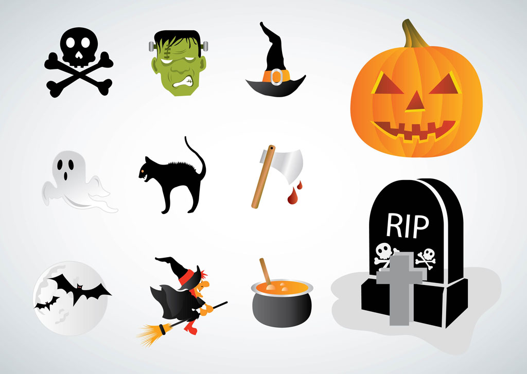 halloween vectors rh vectors1 com Free Halloween Vector Clip Art Free Halloween Vector Graphics
