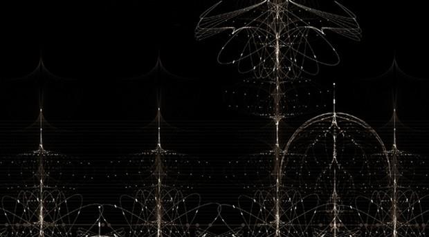 Black fractal
